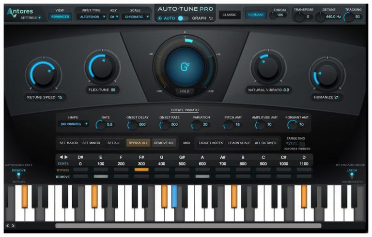 Antares AutoTune Pro 9.2 Crack With Serial Key Free Download