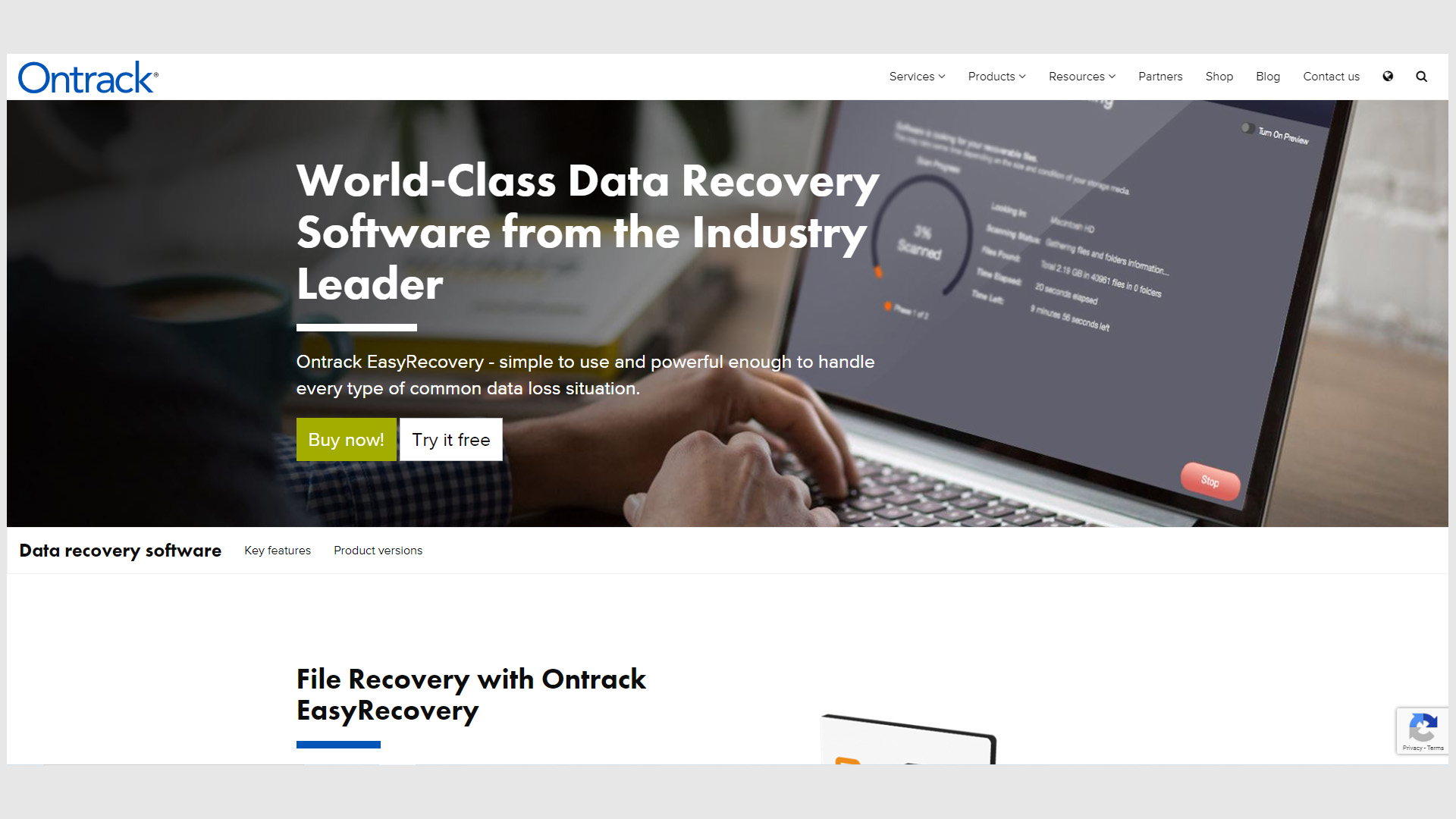Ontrack EasyRecovery Professional 15.0.0.0 Crack With Serial Key Free