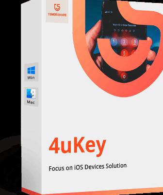 Tenorshare 4uKey 3.0.5.2 Crack _ Latest Version Free