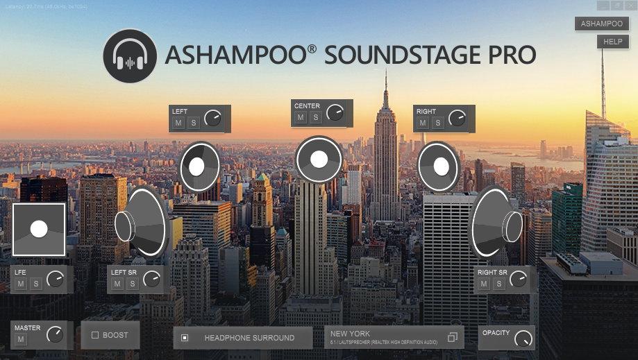 Ashampoo Soundstage Pro 1.0.3.0 Crack + Activation Key Free Dpwnload