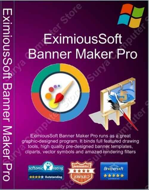 EximiousSoft Banner Maker Pro 5.48 Crack With Serial Key Free Download