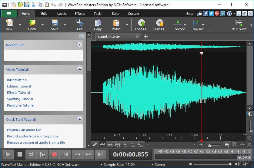 WavePad Sound Editor 12.14 Crack + Registration Code Free Download