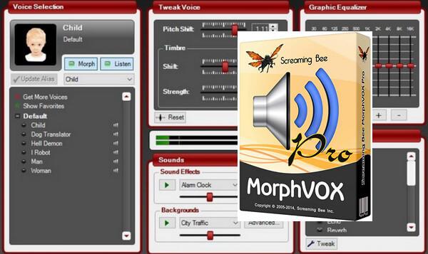 MorphVOX Pro 5.0.10 Crack With Activation Key Free Download