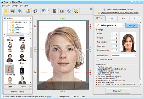 Passport Photo Maker 9.0 Crack With Serial Key Free Download