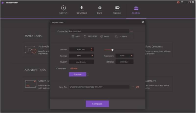 Wondershare UniConverter 12.6.1.3 Crack With Serail Key Free