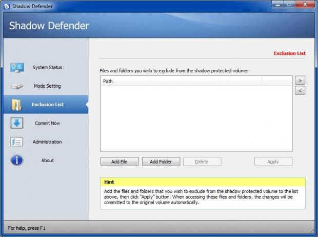 Shadow Defender 1.5.0.726 Crack With Serial Key Free Download