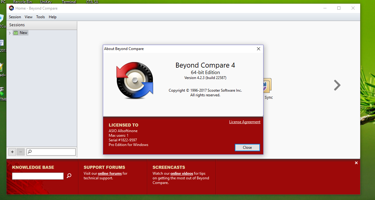 Beyond Compare 4.3.7.25118 Crack With License Key Free Download