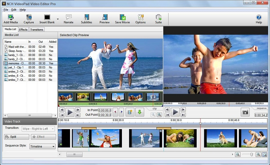 VideoPad Video Editor 10.47 Crack With Registration Key Free Download