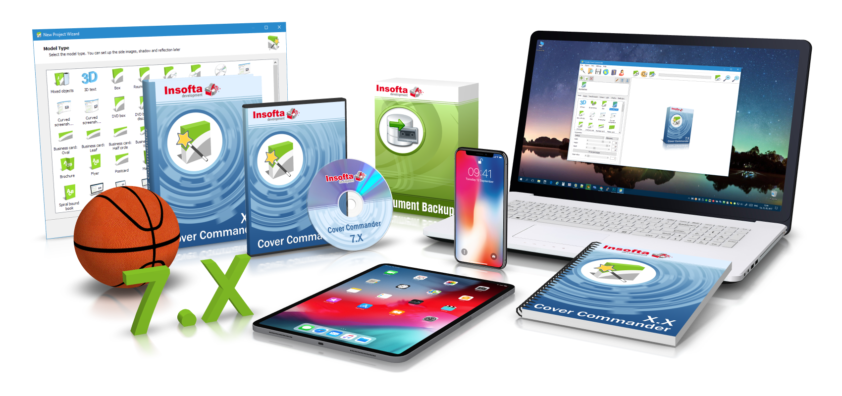 Insofta Cover Commander 6.8.0 Crack With Serial Number Free Download