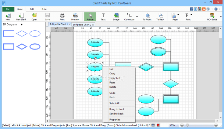 NCH ClickCharts Pro 6.09 Crack _ Mapping Software Free