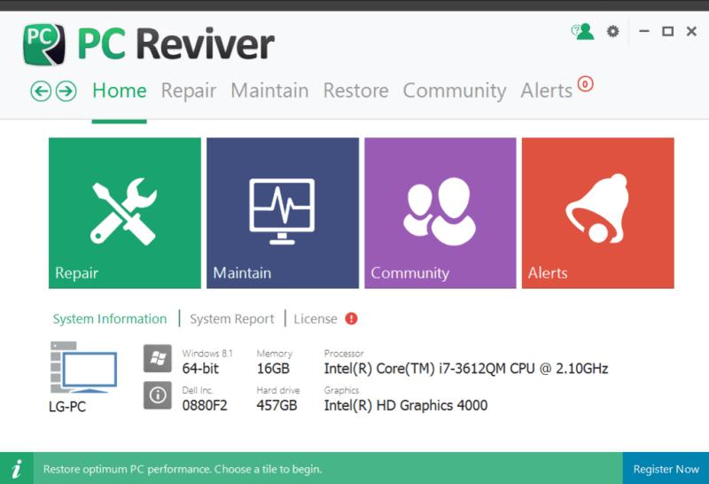 PC Reviver 5.39.1.9 Crack + License Key Free Download